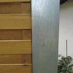 Zaunpfosten stahl verzinkt für Sichtschutzelemente