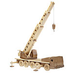 Crane-Truck Plan & Parts from WOOD Magazine