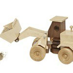 Construction-Grade End Loader Plan & Parts From WOOD Magazine