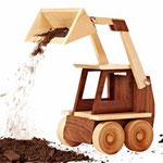 Construction-Grade Skid Loader Plan & Parts from WOOD Magazine
