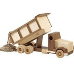 Construction-Grade Dump Truck Plan & Parts from WOOD Magazine
