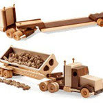 Construction-Grade Tractor & Trailers Plan & Parts from WOOD Magazine