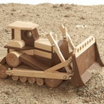 Construction-Grade Bulldozer Plan & Parts From WOOD Magazine