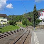 Schweizer-Eisenbahnen - Bahnhof Altstätten Stadt