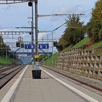 Schweizer-Eisenbahnen Bahnhof Flawil