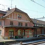 Schweizer-Eisenbahnen - Bahnhof Bischofszell Nord