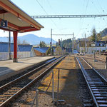 Schweizer-Eisenbahnen - Bahnhof Gais