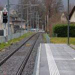 Schweizer-Eisenbahnen Bahnhof Ennenda