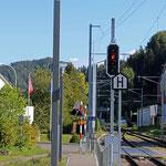 Schweizer-Eisenbahnen - Bahnhof Wila
