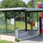 Schweizer-Eisenbahnen Bahnhof Wartensee