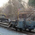 Schweizer-Eisenbahnen RhB Güterwagen Sb-v - 7720
