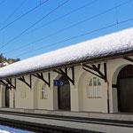 Schweizer-Eisenbahnen - Bahnhof Arosa