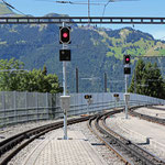 Schweizer-Eisenbahnen - Bahnhof Wengen