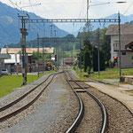 Schweizer-Eisenbahnen Bahnhof Trun