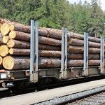 Schweizer-Eisenbahnen RhB Güterwagen Spg - 7601