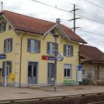 Schweizer Eisenbahnen - Bahnhof Hüttlingen-Mettendorf