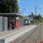 Schweizer-Eisenbahnen Bahnhof Wiesengrund