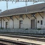 Schweizer-Eisenbahnen Bahnhof Martigny