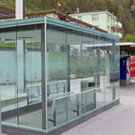 Schweizer-Eisenbahnen Bahnhof Mühlehorn