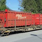 Schweizer-Eisenbahnen RhB Güterwagen R-w - 8205