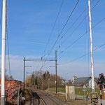 Schweizer-Eisenbahnen Bahnhof Bottighofen