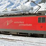 Schweizer-Eisenbahnen - Ge 4/4 III - 81