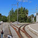 Schweizer-Eisenbahnen Bahnhof Bühler