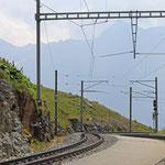 Schweizer-Eisenbahnen - Bahnhof Alp Grüm