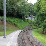 Schweizer-Eisenbahnen Bahnhof Sorengo Laghetto