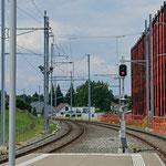 Schweizer-Eisenbahnen - Bahnhof Roggwil-Berg