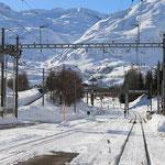 Schweizer-Eisenbahnen Bahnhof Realp