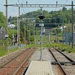 Schweizer-Eisenbahnen - Bahnhof Ermatingen