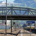 Schweizer-Eisenbahnen Bahnhof Brunnen