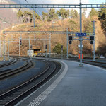 Schweizer-Eisenbahnen Bahnhof Reichenau-Tamins