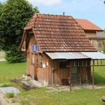 Schweizer-Eisenbahnen Bahnhof Ei