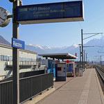 Schweizer-Eisenbahnen Bahnhof Riazzino