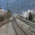 Schweizer-Eisenbahnen - Bahnhof Chur West