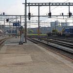 Schweizer-Eisenbahnen - Bahnhof Delémont