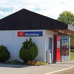 Schweizer-Eisenbahnen - Bahnhof Hirschberg