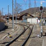 Schweizer-Eisenbahnen Bahnhof Lichtensteig