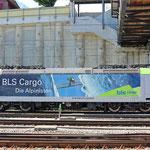 Schweizer-Eisenbahnen - Re 485 / 015