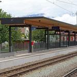 Schweizer-Eisenbahnen - Bahnhof Bonaduz