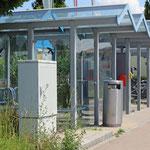 Schweizer-Eisenbahnen - Bahnhof Bronschhofen