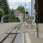Schweizer-Eisenbahnen Sternen bei Teufen