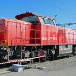 Schweizer-Eisenbahnen - Am 843 / 004