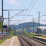 Schweizer-Eisenbahnen - Bahnhof Eschlikon