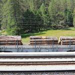 Schweizer-Eisenbahnen RhB Güterwagen Re-t - 654 10