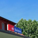 Schweizer-Eisenbahnen Bahnhof Steckborn