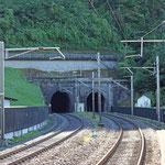 Schweizer-Eisenbahnen - Bahnhof Sisikon