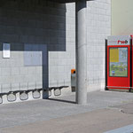 Schweizer-Eisenbahnen Bahnhof Frauenfeld Marktplatz